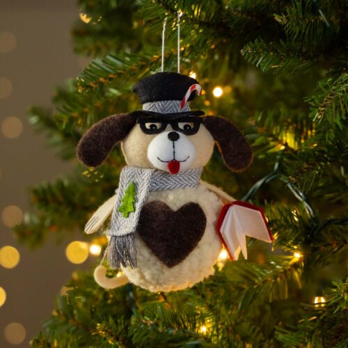Warm Hearts ❤️ Full Bellies Ornament Collection 🎄 Dexter The Rescue Pup