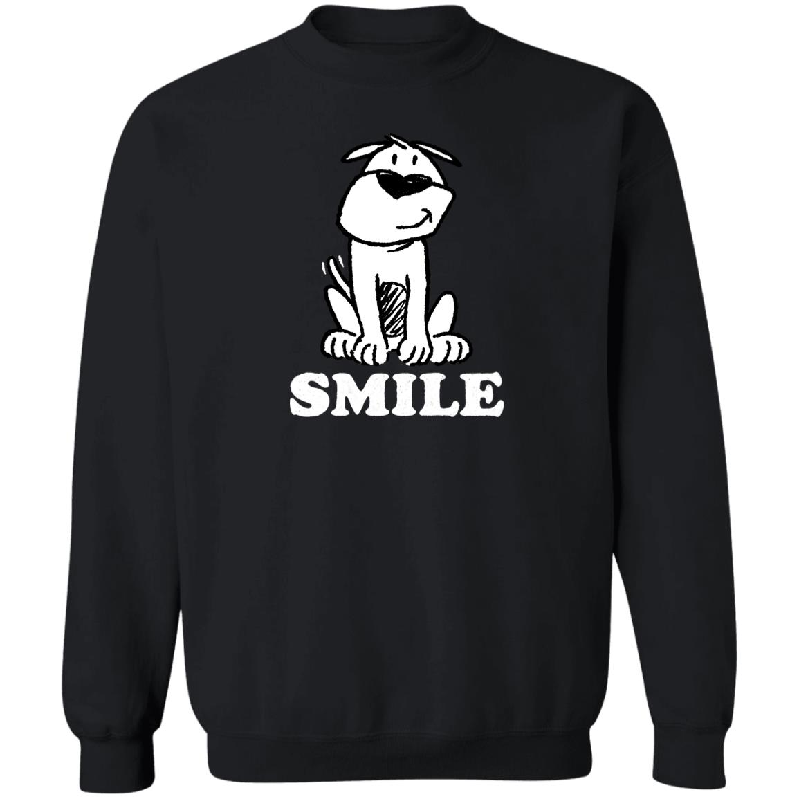 Smile ResQ - Black Sweatshirt 🐾  Deal Up To 25% Off!