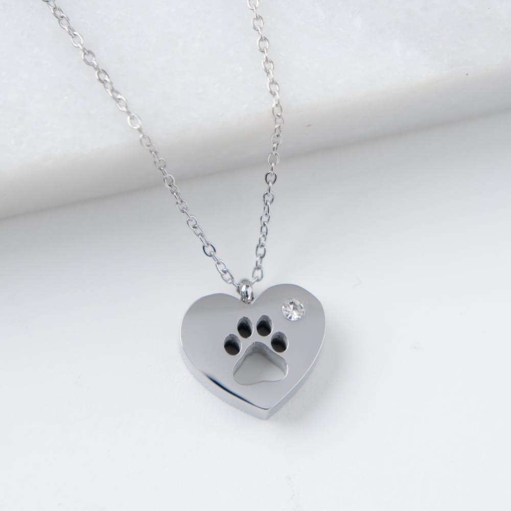 My Dog is My Heart Necklace