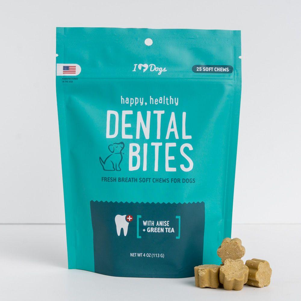 iHeartDogs Happy, Healthy™ Dental Breath Bites (4 oz)