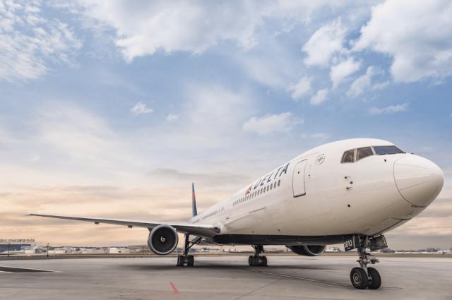 Delta flight runway