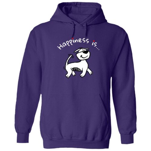 Happiness is... ResQ!  - Purple Pullover Hoodie 🐾  Deal Up To 25% Off!