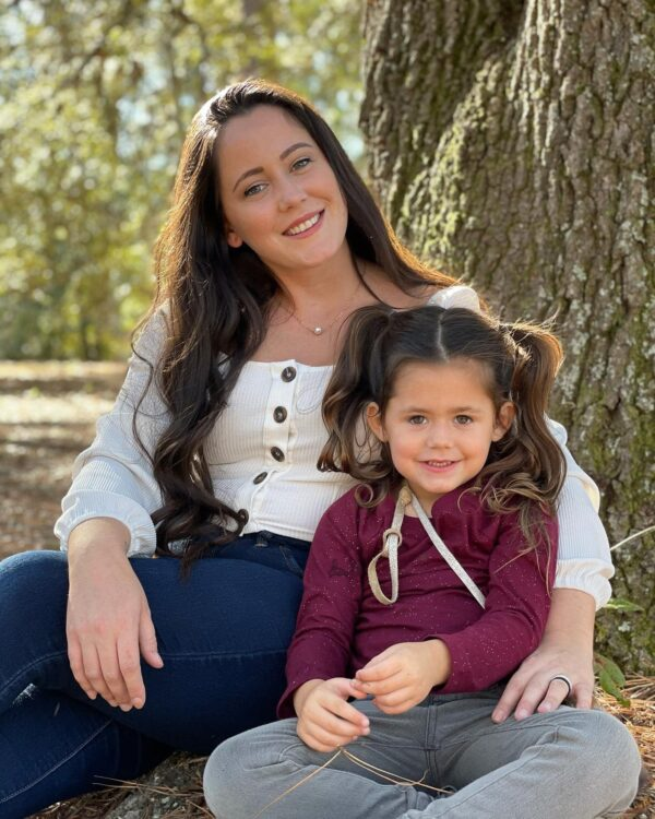 Janelle Evans and daughter