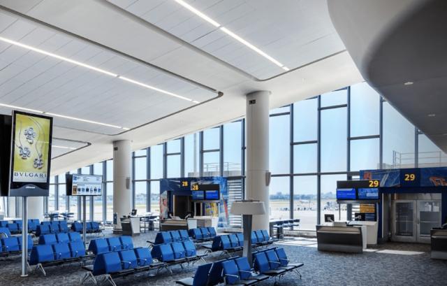 LaGuardia Airport gate