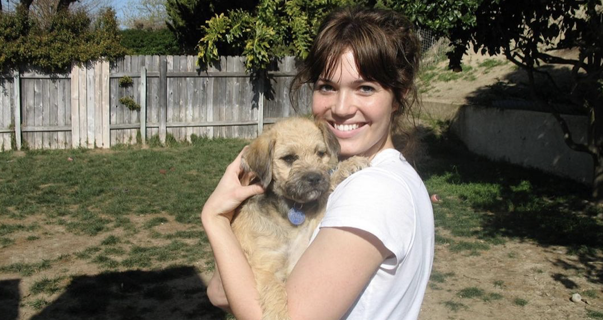 Mandy Moore Rescue Dog