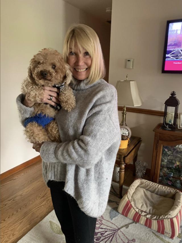 Teddy Bear with Foster Mom