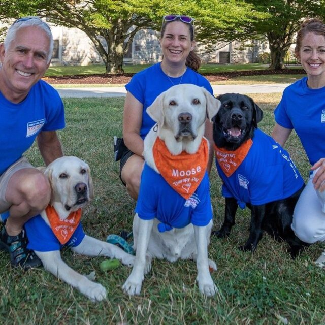 Virginia Tech Therapy Dogs