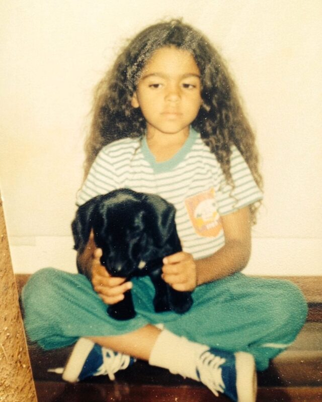 Camila Alves First Dog