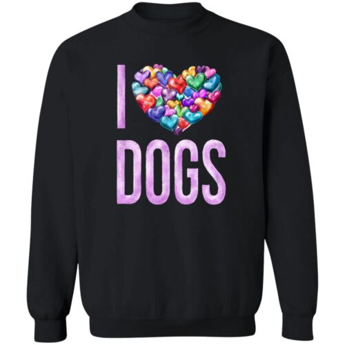 For The Love Of Dogs Black Sweatshirt 🐾 Deal 30% Off!