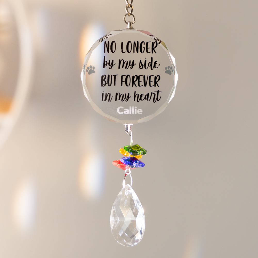 No Longer By My Side- Personalized Home & Garden ☀️ Sun Catcher
