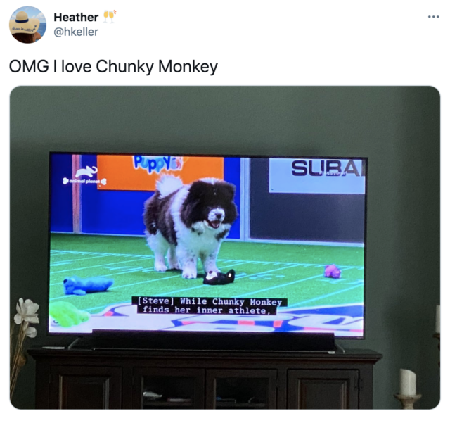 Chunky Monkey on TV