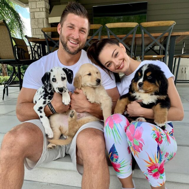 Tim Tebow puppies