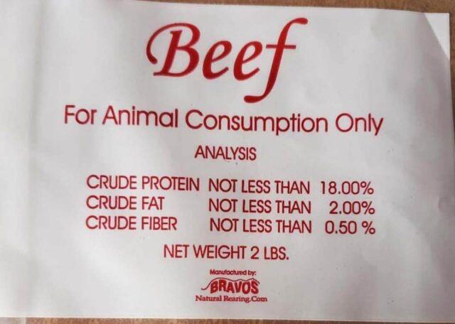 Beef Bravo Dog Food