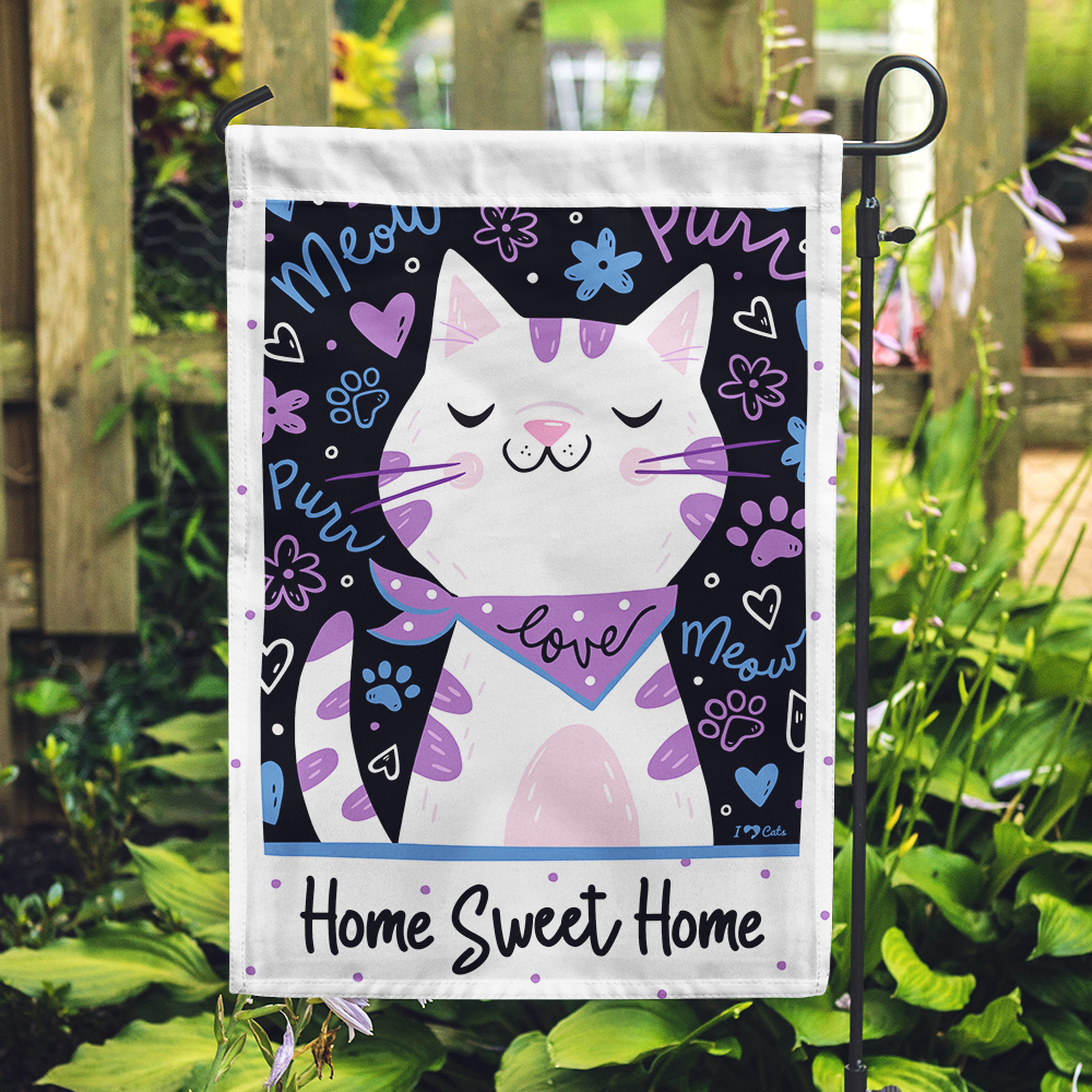 Home Sweet Home Garden Flag -  Get 2 for $14.99!