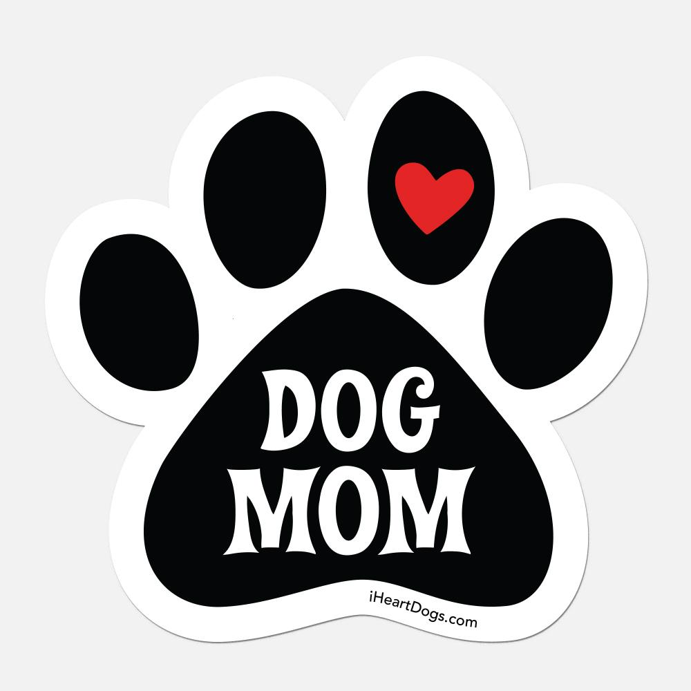 I'm A Dog Mom Car Magnet
