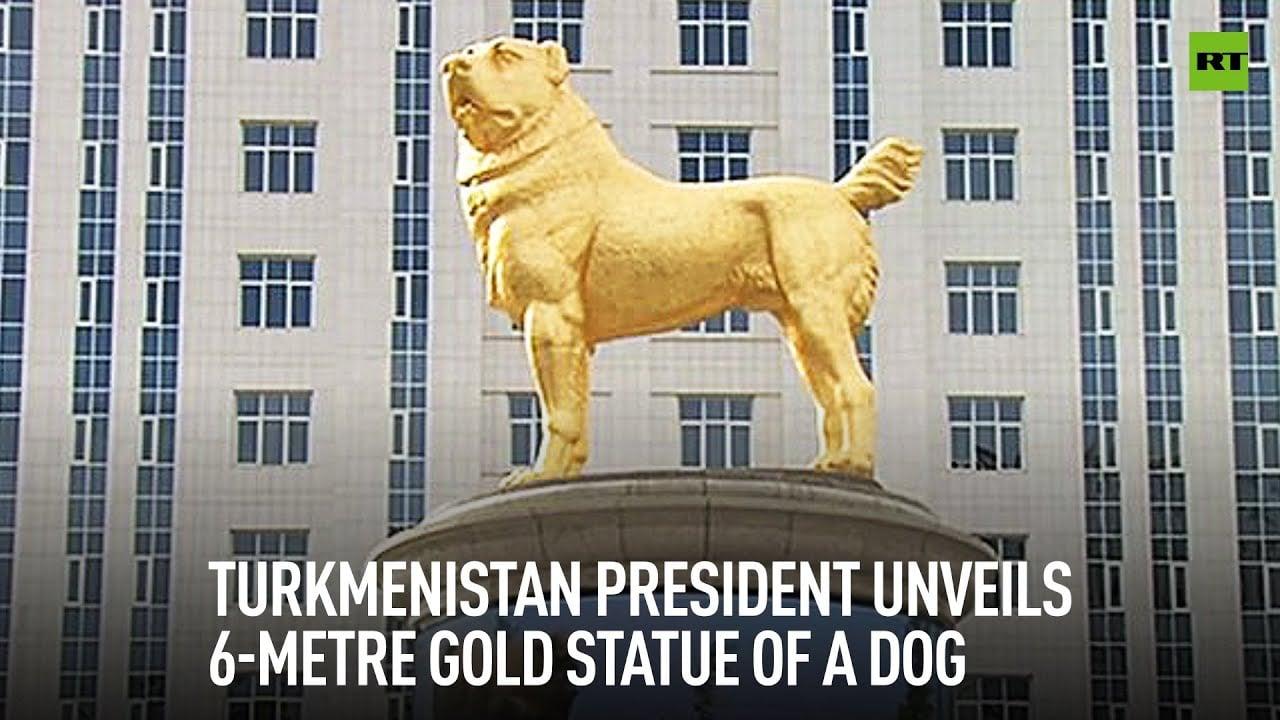 Alabai dog statue