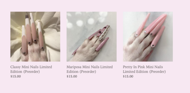 Dog nails for sale
