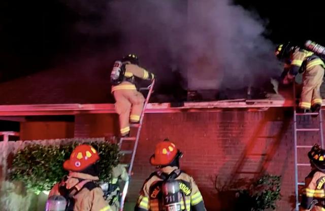 Texas house fire