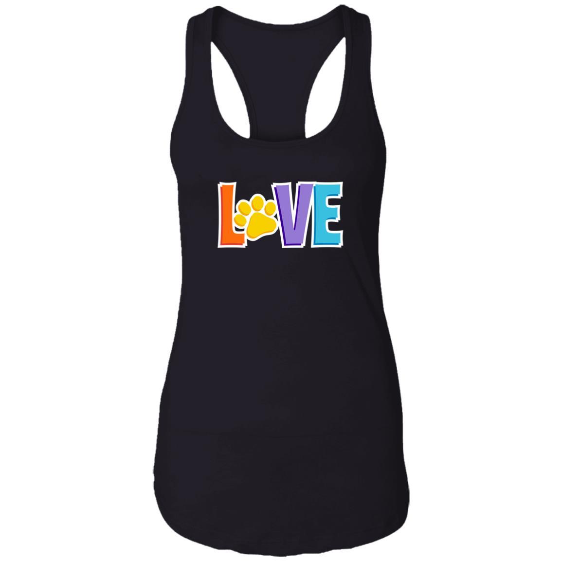 Love Is 💕 Ideal Tank- Black
