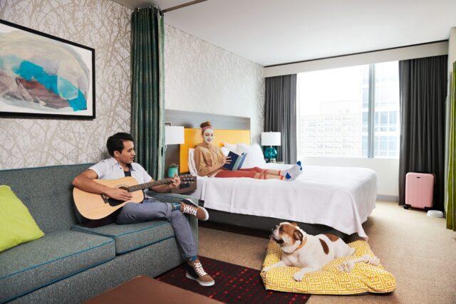 Dog-friendly Hilton hotel