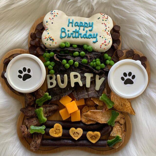 Happy birthday barkuterie board
