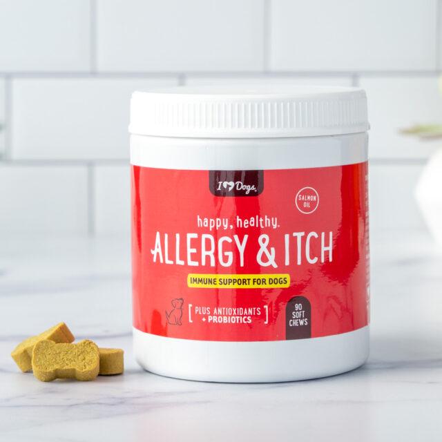 Reishi mushroom allergy supplement