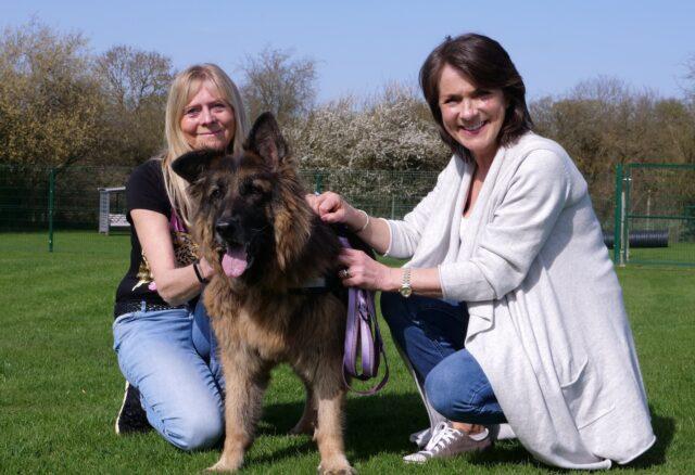 Women who saved drowning dog