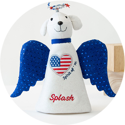 Collectible Angel Dogs Products
