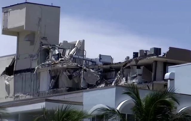 Rubble from Miami building collapse