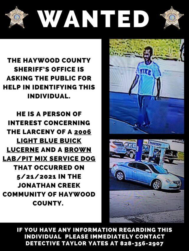 wanted car and dog thief