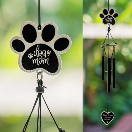 """Dog Mom """"Listen To The Wind And Know I Am Near"""" Wind Chime"""