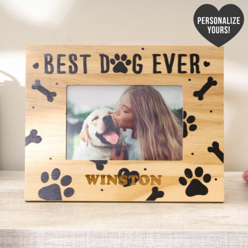 Best Dog Ever! - Personalized Photo Frame