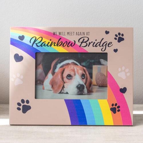 Meet Me At The Rainbow Bridge – Memorial Frame