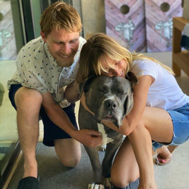 Kaley Cuoco Rescue Mastiff