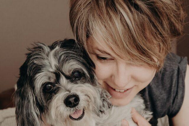 Scarlett with Molly