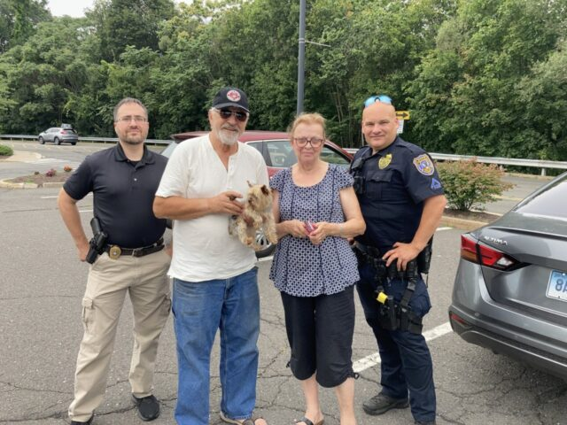 Family gets Yorkie back