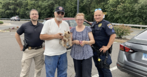 Stolen Yorkie rescued by police