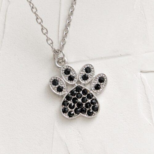New Sparkle Paw Necklace 🐾