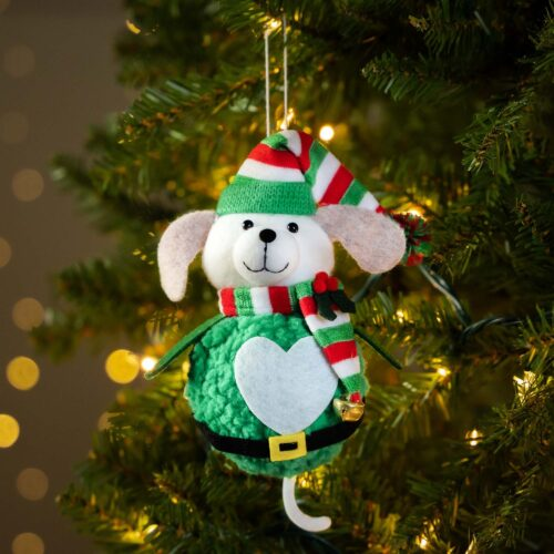 Warm Hearts ❤️ Full Bellies Ornament Collection 🎄 Buddy the Rescue Pup