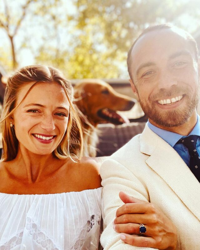James Middleton Wedding Photo