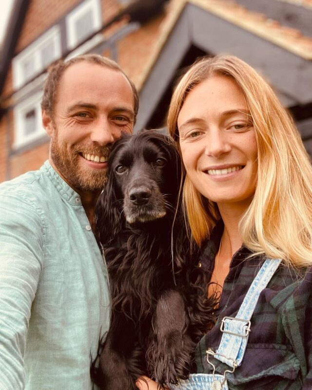 James Middleton Wife and Dog