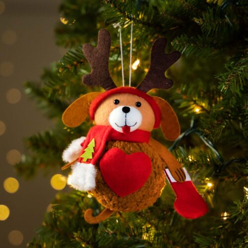 Warm Hearts ❤️ Full Bellies Ornament Collection 🎄 Rudy the Rescue Pup