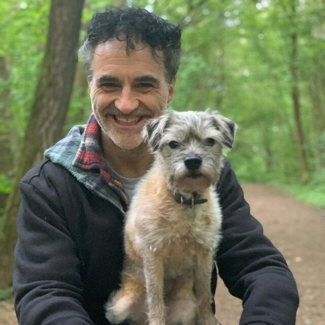 Noel Fitzpatrick with Dog
