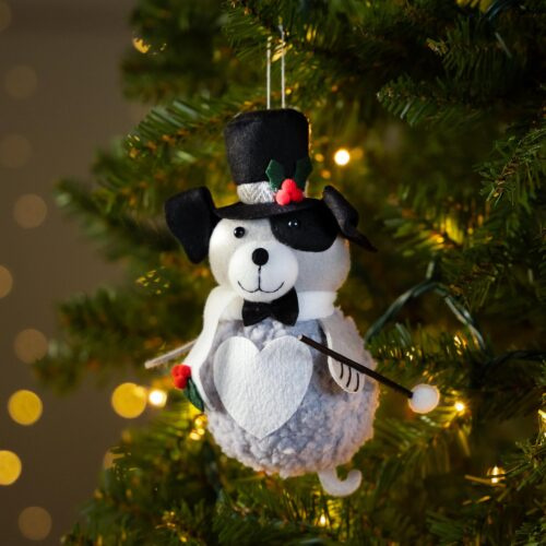Warm Hearts ❤️ Full Bellies Ornament Collection 🎄 John D. Barkefeller III the Rescue Pup