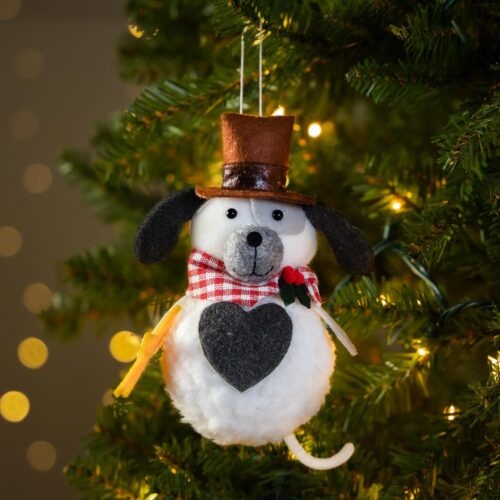 Warm Hearts ❤️ Full Bellies Ornament Collection 🎄 Woody the Rescue Pup