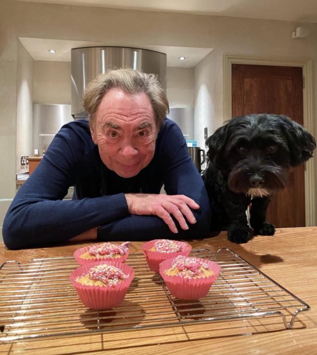 Andrew Lloyd Webber and Dog Baking