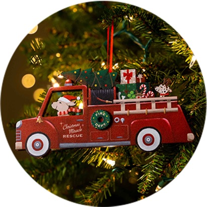 Rosco The Rescue Ornaments Products