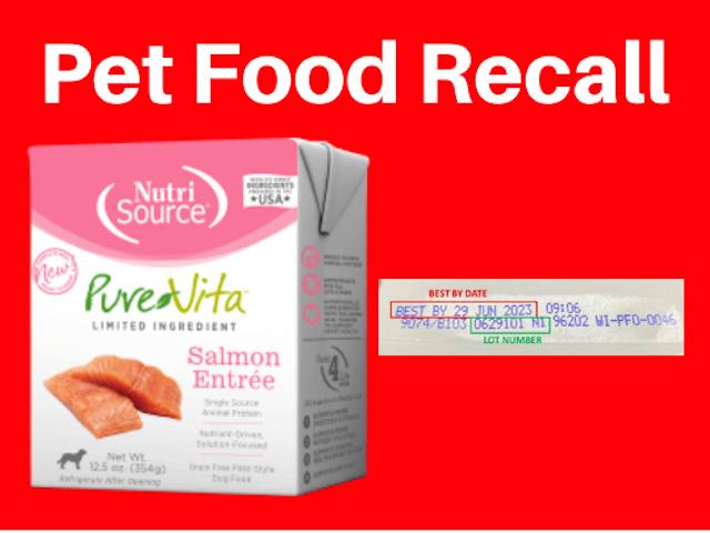 NutriSource Pet Food Recall