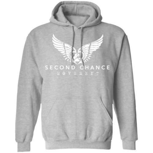 Second Chance Movement™ Hoodie Heather Grey - Discount 50%